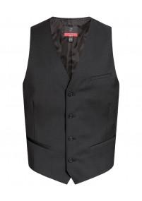 XXL-Businesskrawatte Punkt-Pattern rot
