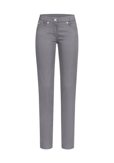 Krawatte Streifendessin marineblau kupfer-orange