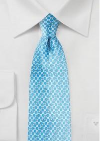 Krawatte Blumenmuster Baumwolle dunkelblau