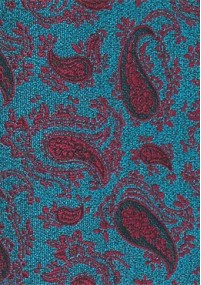 Businesskrawatte Rosen-Muster rose