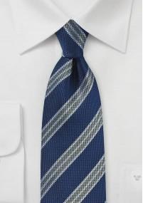 Feuerwehr-Krawatte nachtblau