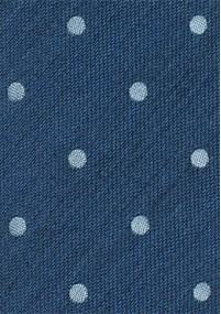 Krawatte Karo-Struktur königsblau