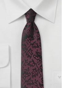 Paisley-Motiv-Krawatte Baumwolle beige