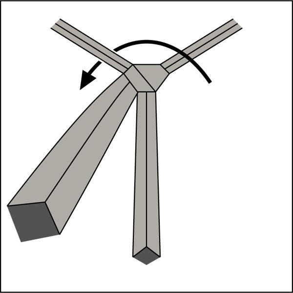 Krawattenknoten-Balthus-Knoten-3