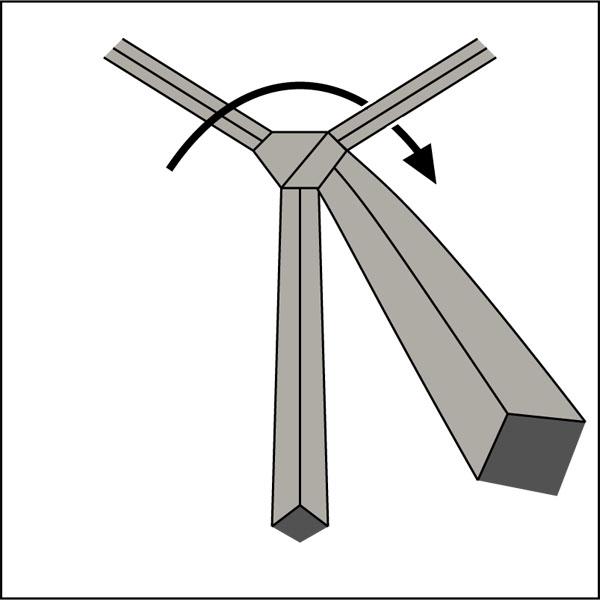 Krawattenknoten-Balthus-Knoten-4