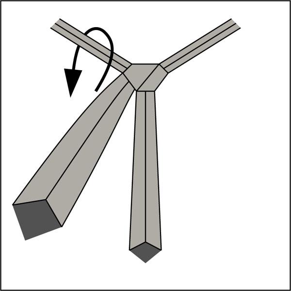 Krawattenknoten-Pratt-Knoten-2