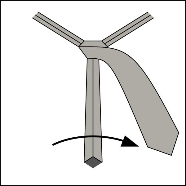 Krawattenknoten-Pratt-Knoten-3