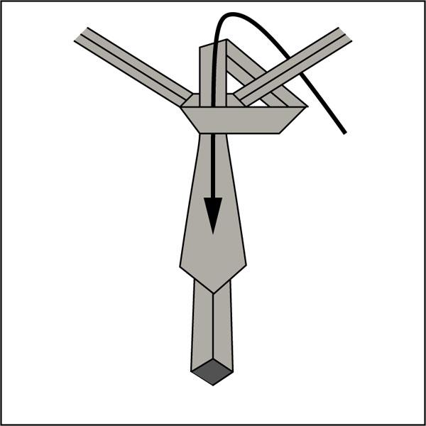 Krawattenknoten-Pratt-Knoten-4